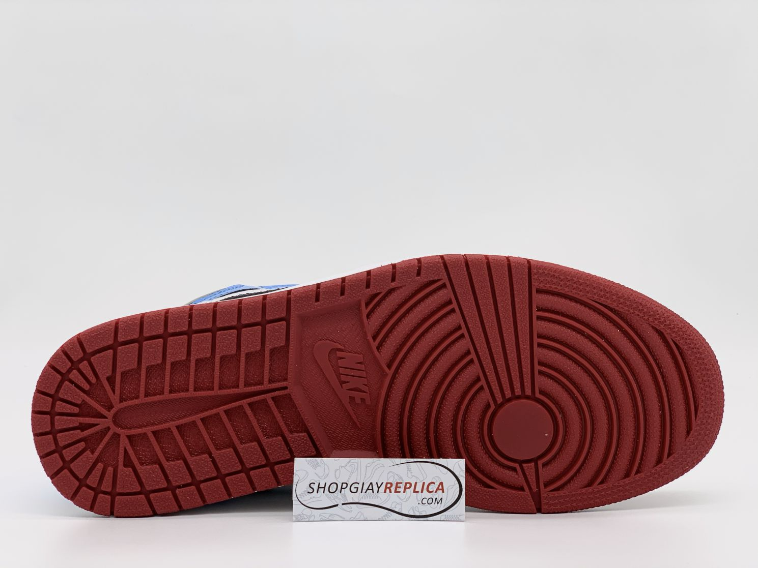 đế giày Air Jordan 1 High Fearless UNC Chicago