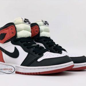 Giày Jordan 1 Retro High Satin Black Toe