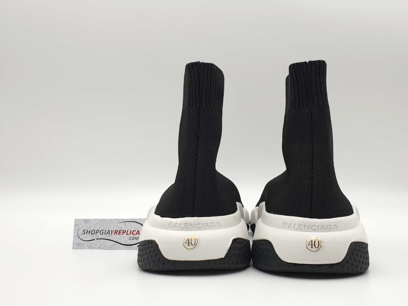 giay Balenciaga Speed Trainers black white replica