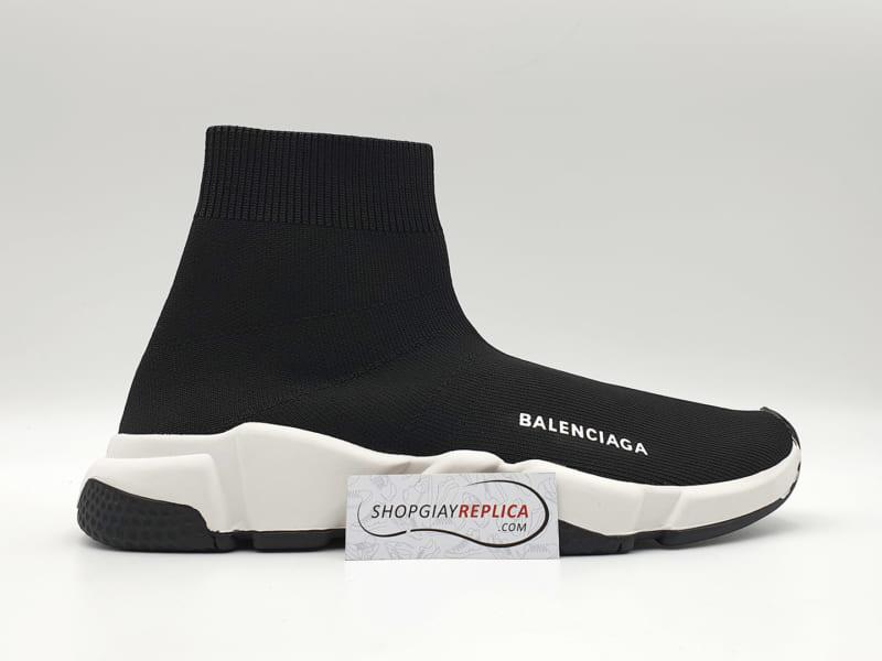 giay Balenciaga Speed Trainers black white replica