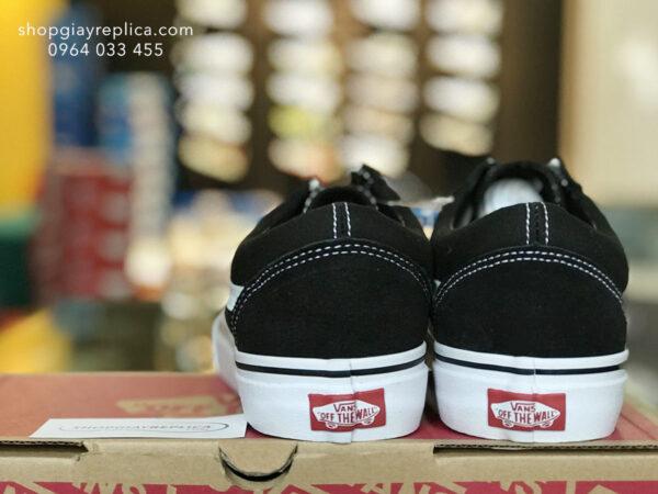 giày Vans Old Skools Trainer đen replica
