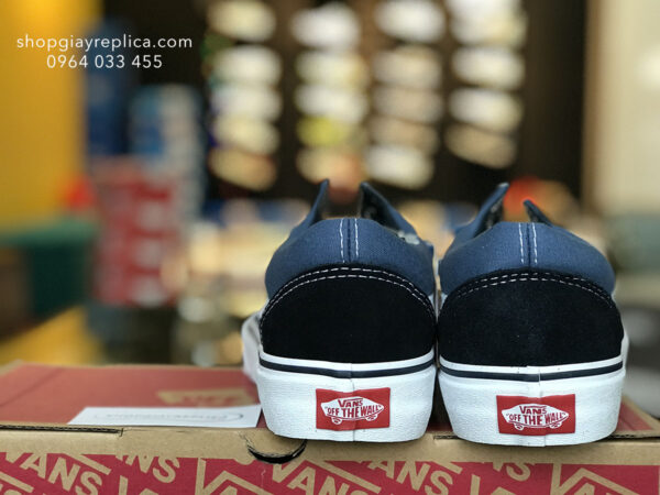 giày Vans Old Skools Trainer xanh replica