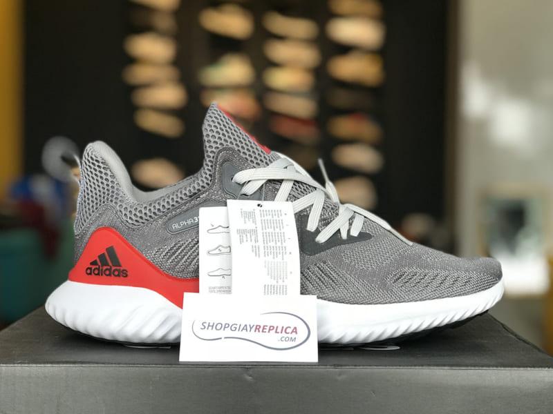 giày adidas alphabounce do xam replica