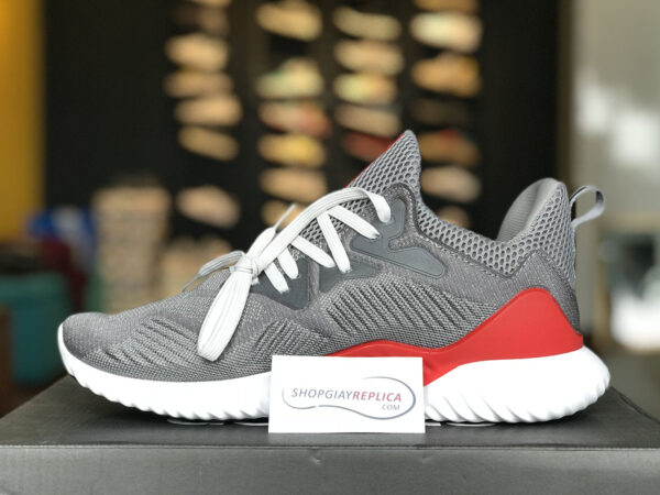 giày adidas alphabounce do xam replica