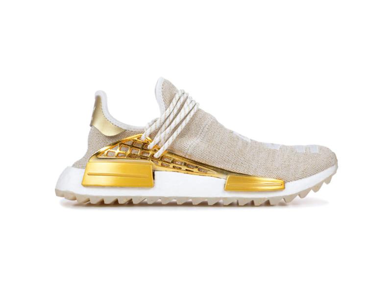 Pharrell x Adidas NMD Hu china gold happy replica