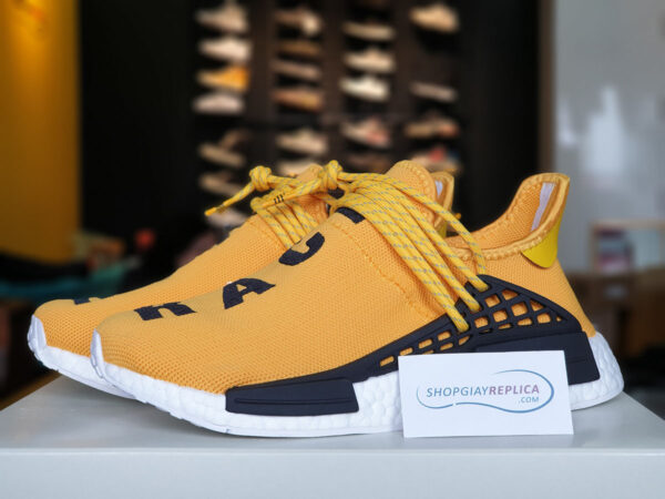 giày adidas nmd human race yellow replica
