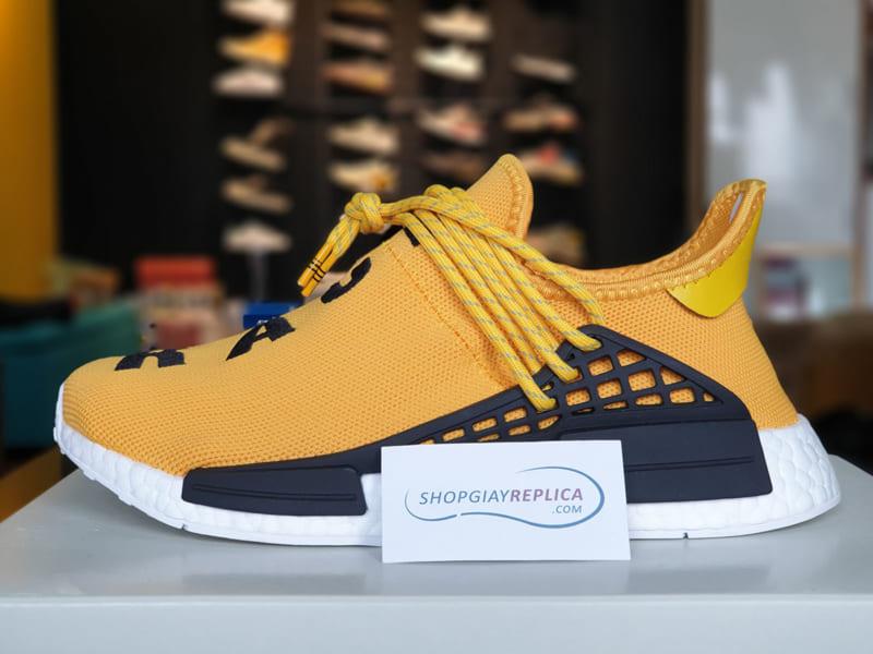 giày adidas nmd human race yellow replica
