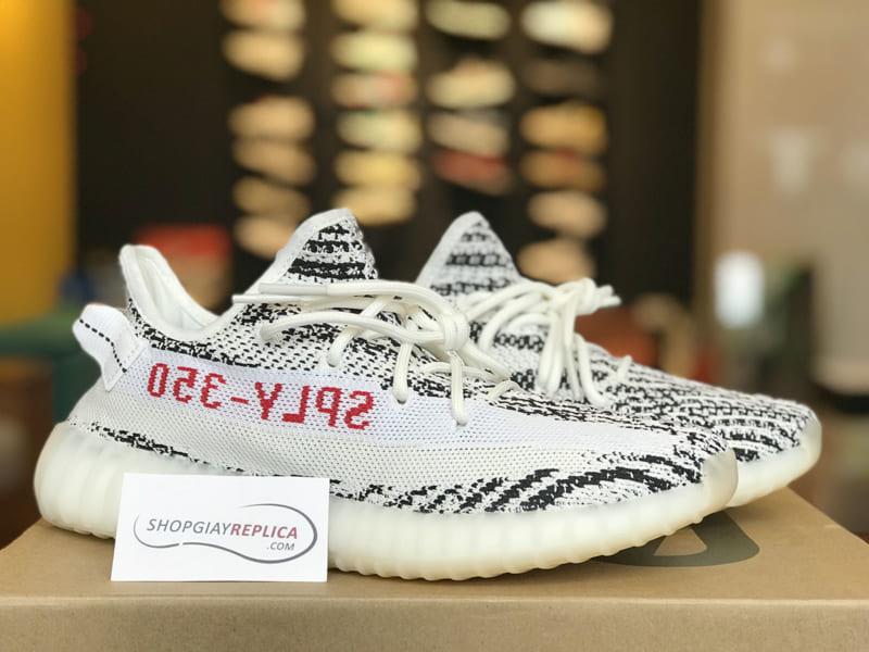 giày adidas yeezy 350 v2 zebra replica