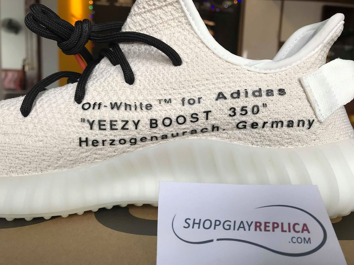 giày adidas yeezy off white replica