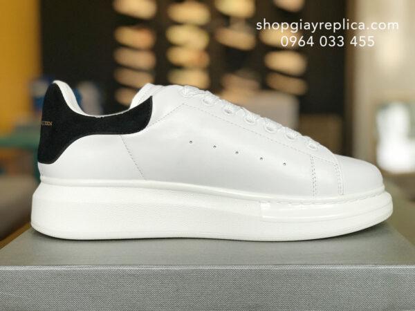 giày alexander mcqueen replica gót đen