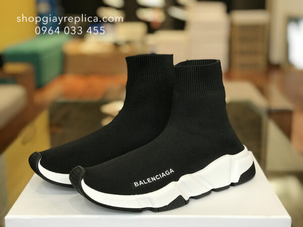 giày balenciaga speed trainer black replica