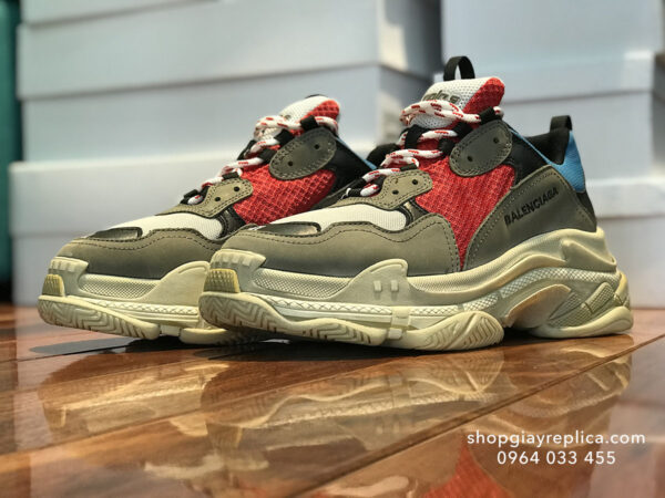 balenciaga triple s replica xanh do