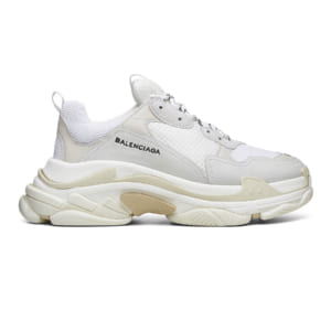 balenciaga triple s white replica