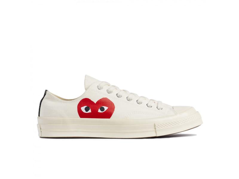 giày converse tim trang thap replica