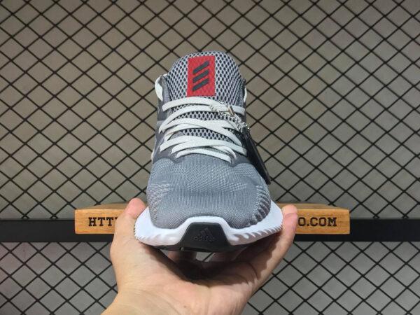 Giày Adidas Alpha Bounce hồng xám