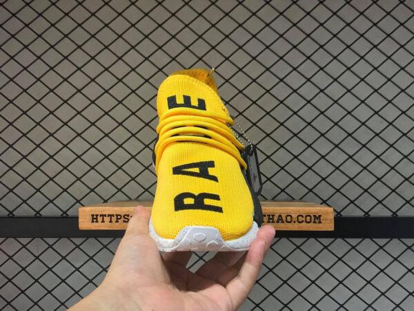 giay adidas human race vang