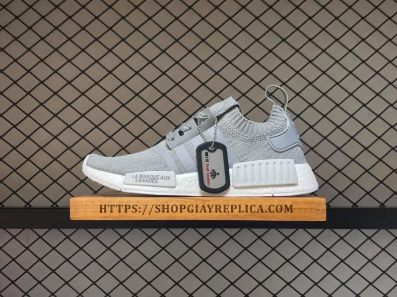 giày adidas nmd r1 màu xám
