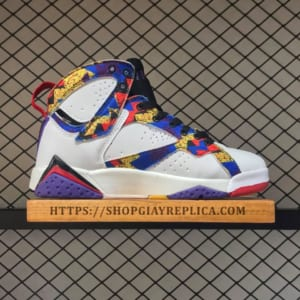 giay nike air jordan mix color