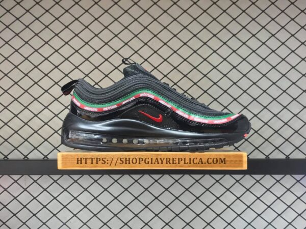 giay nike air max 97 undefeated den