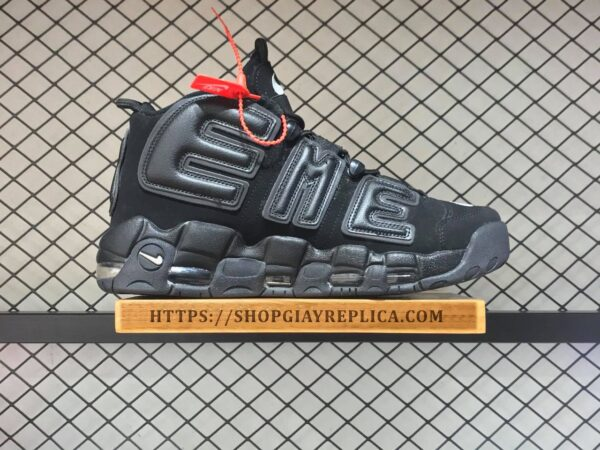 giay nike air uptempo superme den