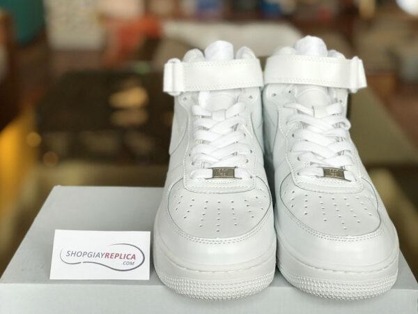 giày nike af1 cao co trang replica