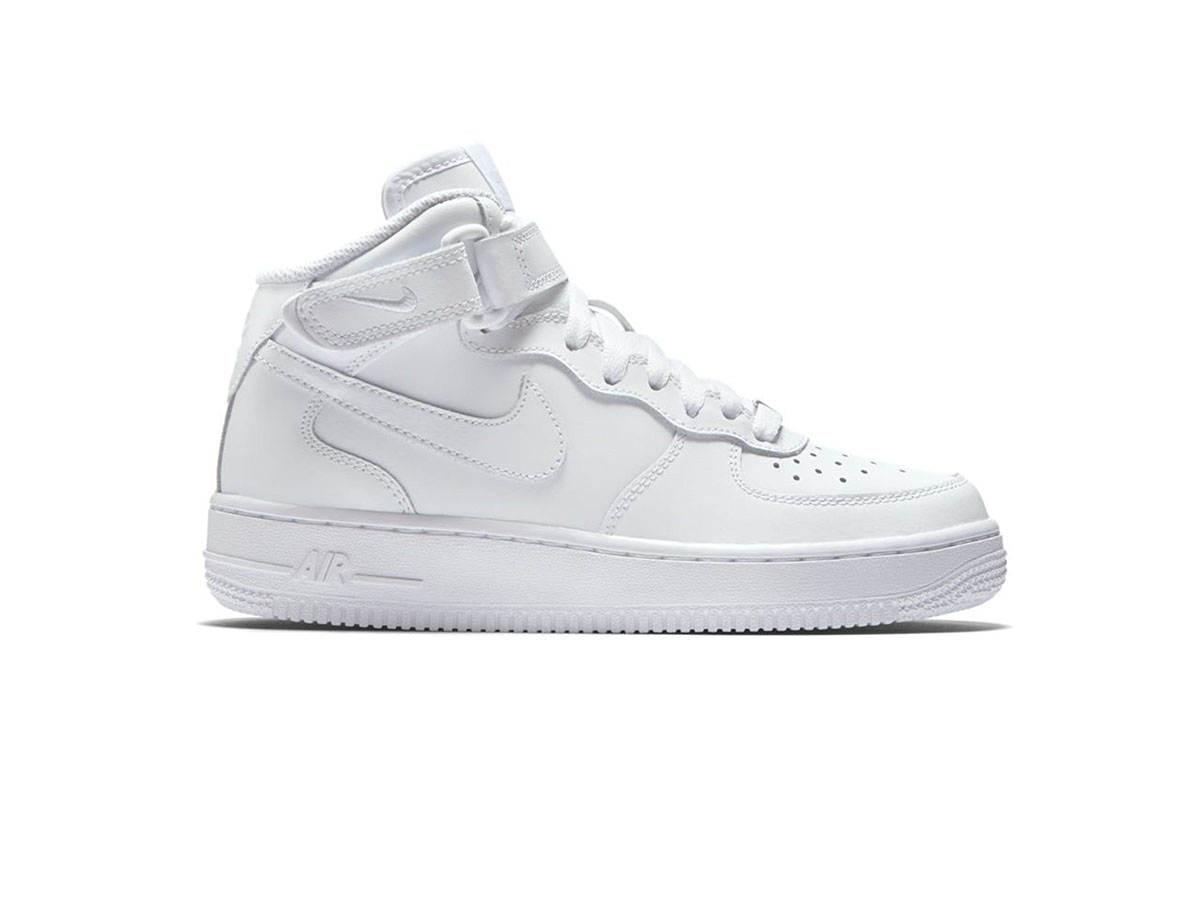 Giày Nike Air Force 1 cao cổ trắng