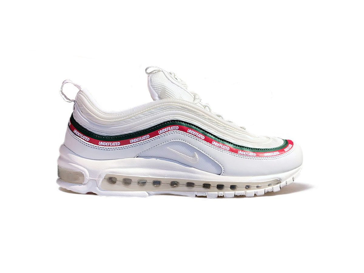 low priced 8bb6a 4b7a6 Giày Nike Air Max 97 Undefeated trắng replica 1:1 - Shop ...