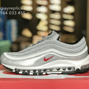giày nike air max 97 xam replica