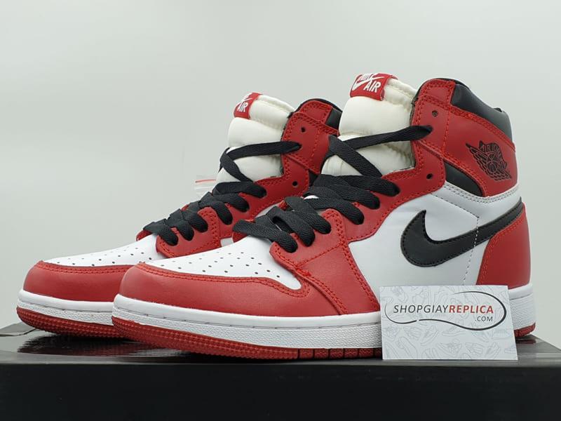 giày nike jordan 1 retro chicago replica
