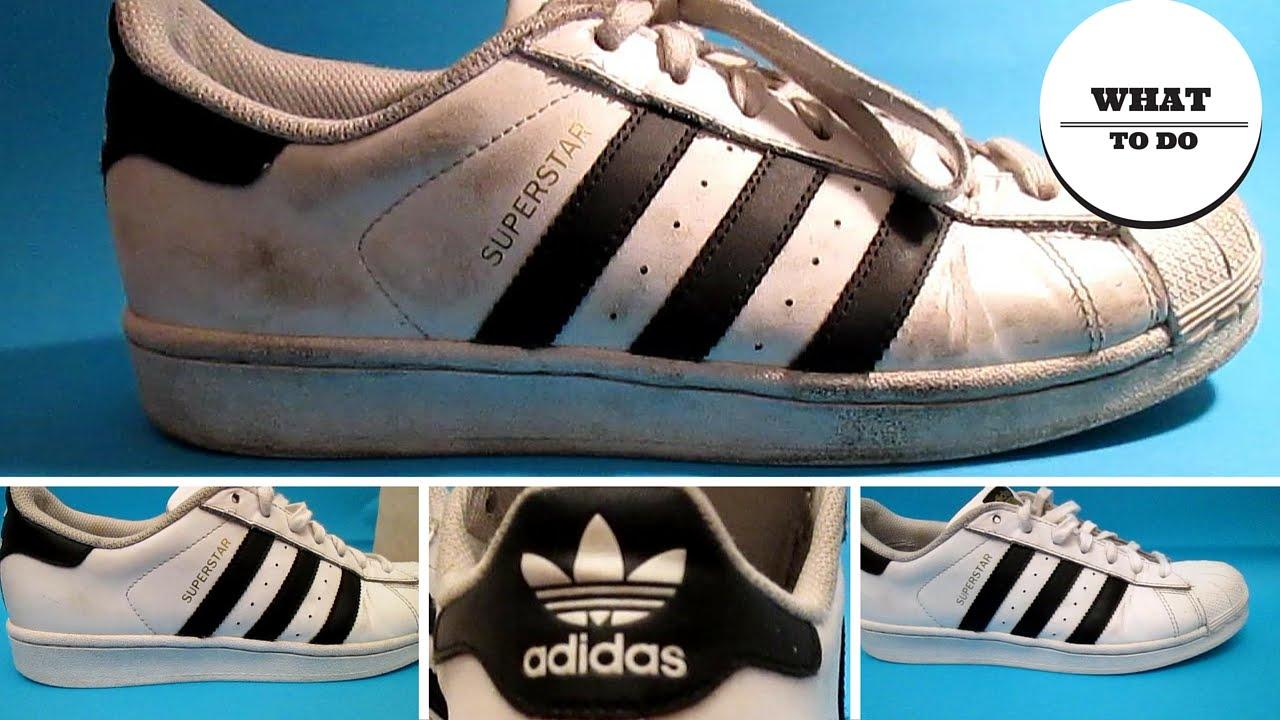 huong dan cach ve sinh giay Adidas