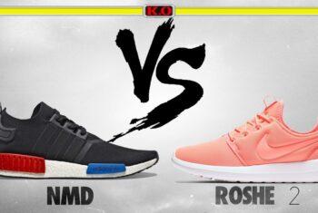 Bạn đang băn khoăn nên mua giày Nike hay Adidas ?