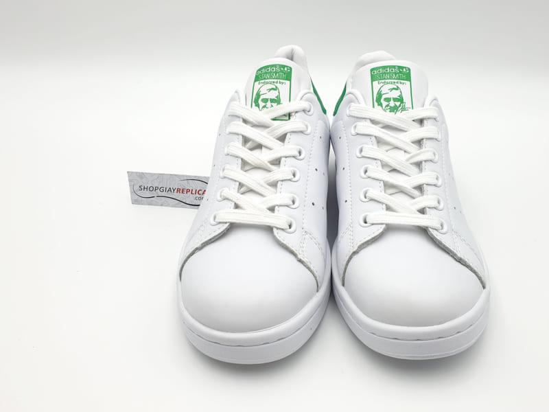 giày adidas stan smith xanh la replica