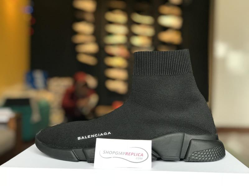 Giày Balenciaga Speed Trainer full đen siêu cấp