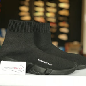 giay balenciaga speed trainer full black replica