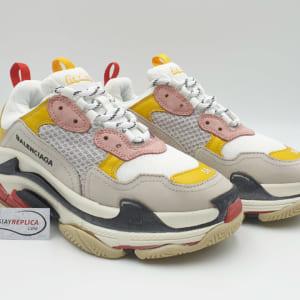 giày balenciaga triple s vang hong replica