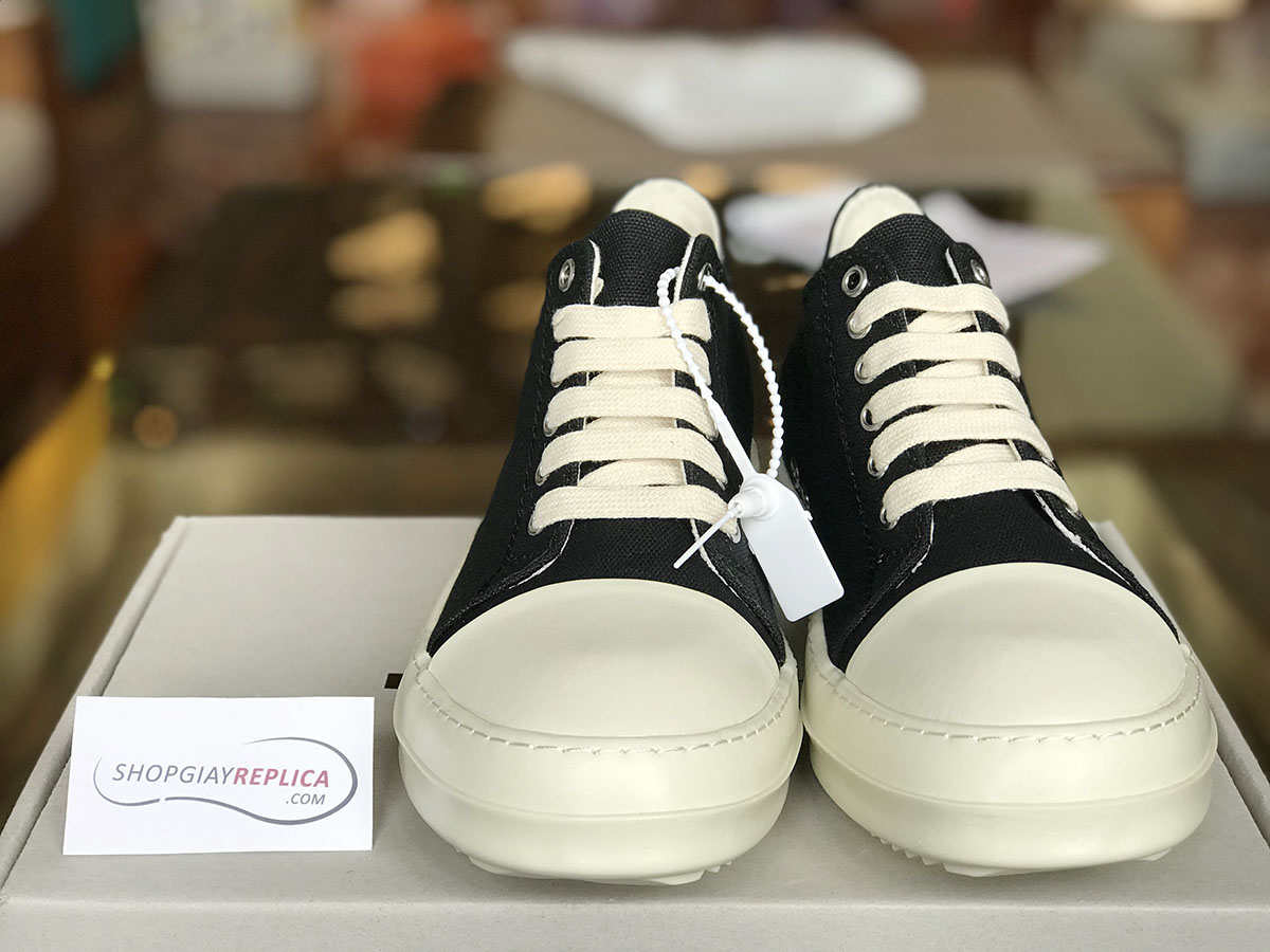 giày rick owen drkshdw high replica