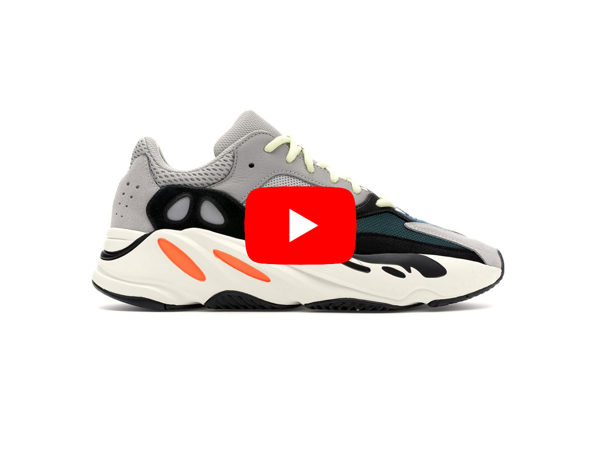 Unbox giày yeezy 700 og wave runner replica