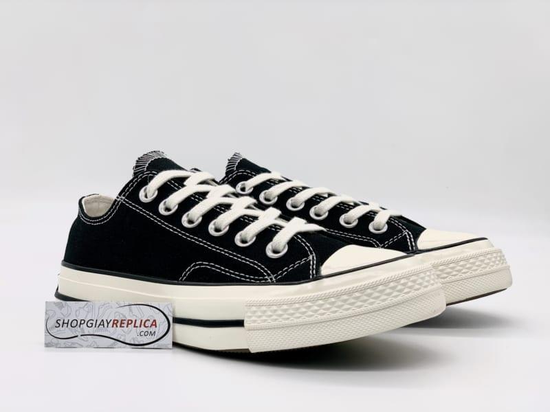 Giày Converse Chuck 1970s Đen Thấp Cổ replica