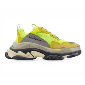 giay balenciaga triple neon yellow green replica