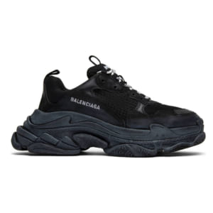 giay balenciaga triple s black replica