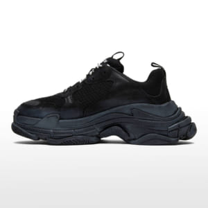 balenciaga triple s black replica