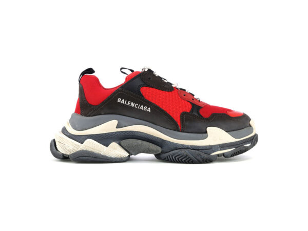 giay balenciaga triple s do den replica