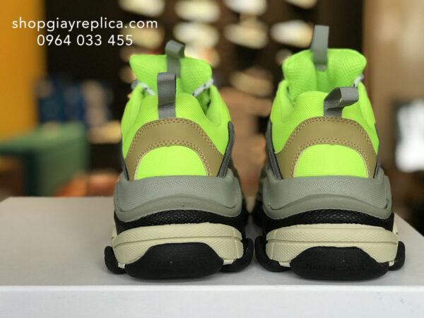 giày balenciaga triple s neon replica