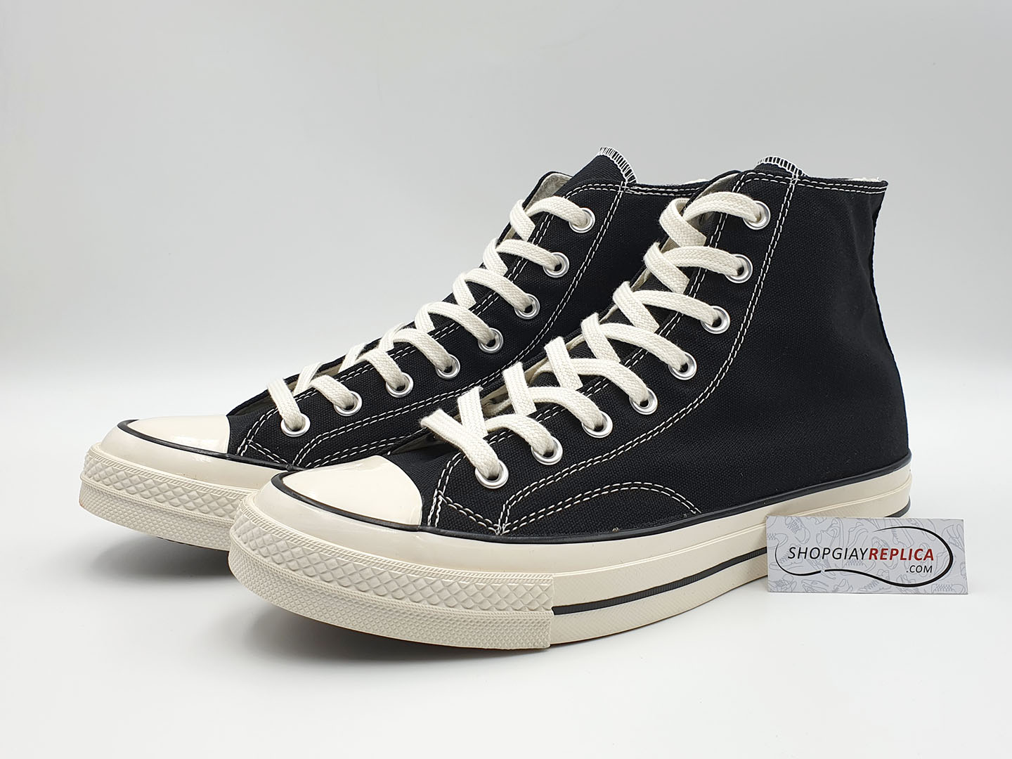 giày converse 1970s black high replica