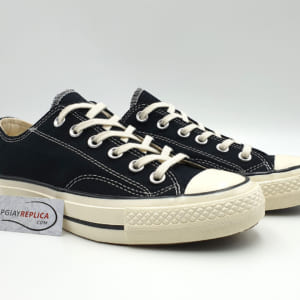 giày converse 1970s black low replica