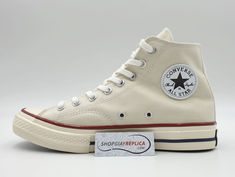 giày converse 1970s cream white high replica