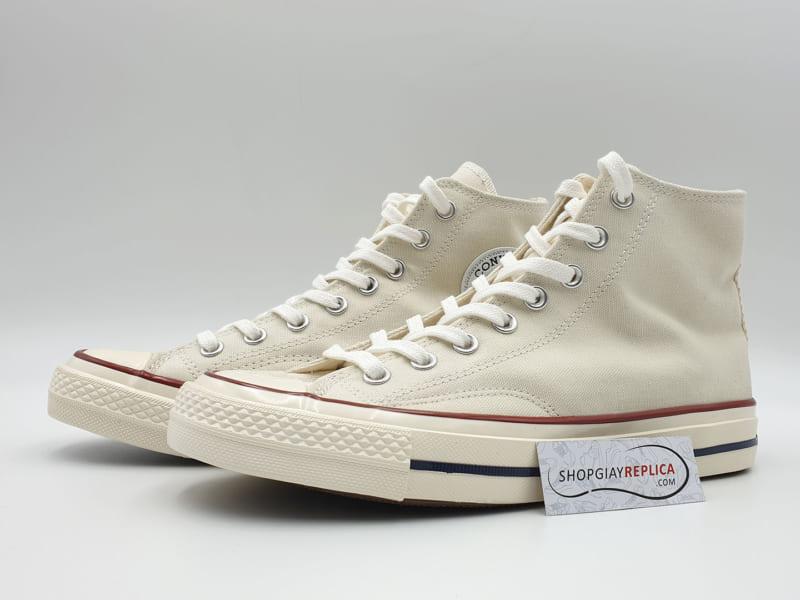 giày converse 1970s cream white high replica