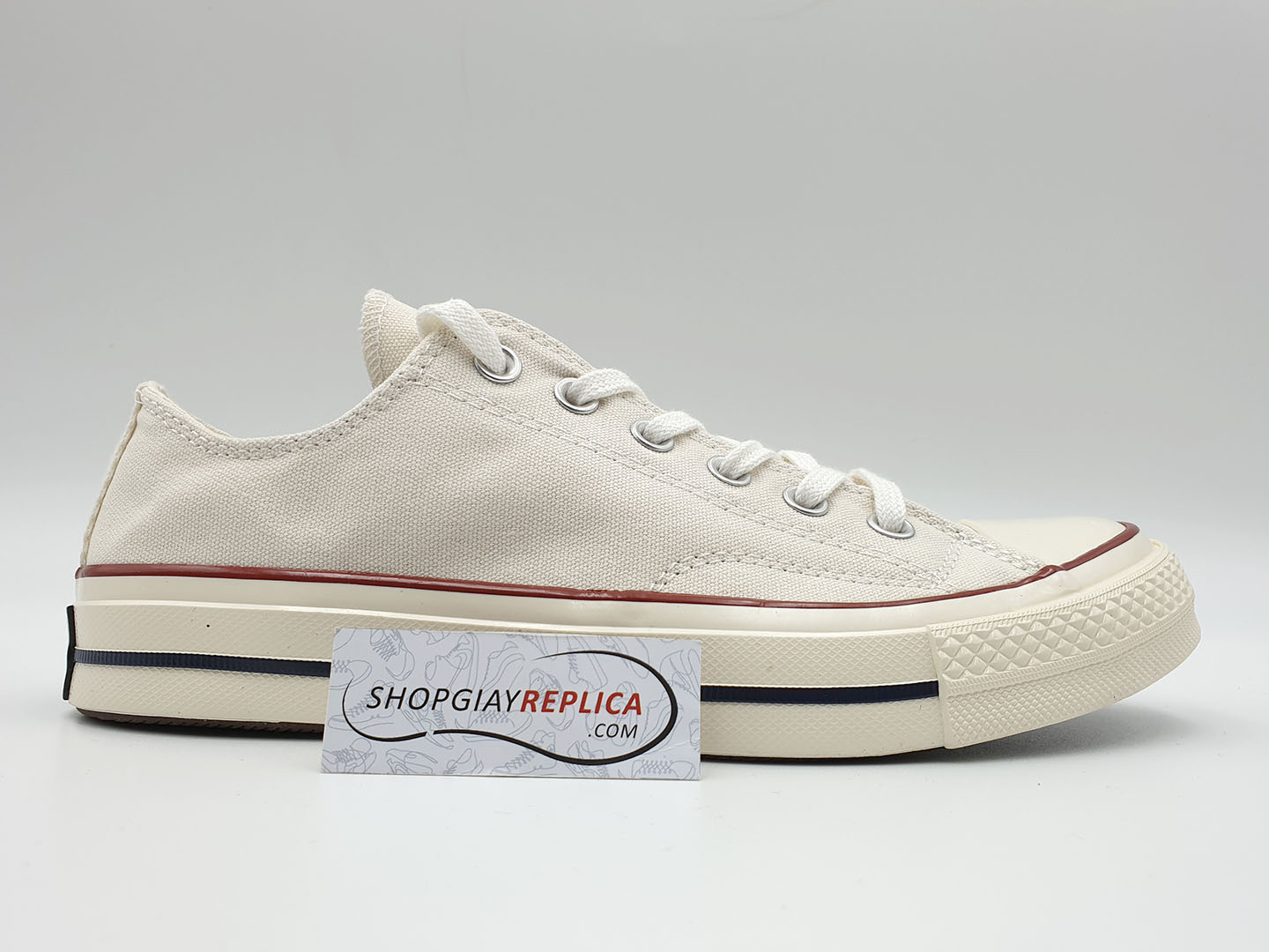 giày converse 1970s cream white low replica