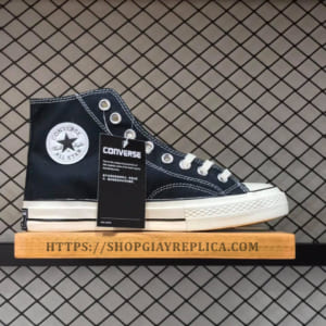 Giày Converse Chuck Taylor 1970s black high replica