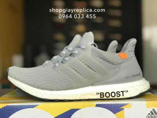 giay adidas ultra boost off white xam